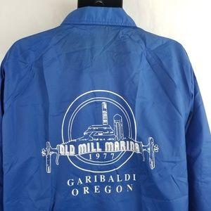 Vintage Old Mill Marina Garibaldi Oregon Jacket